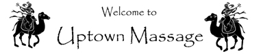 Uptown Massage logo